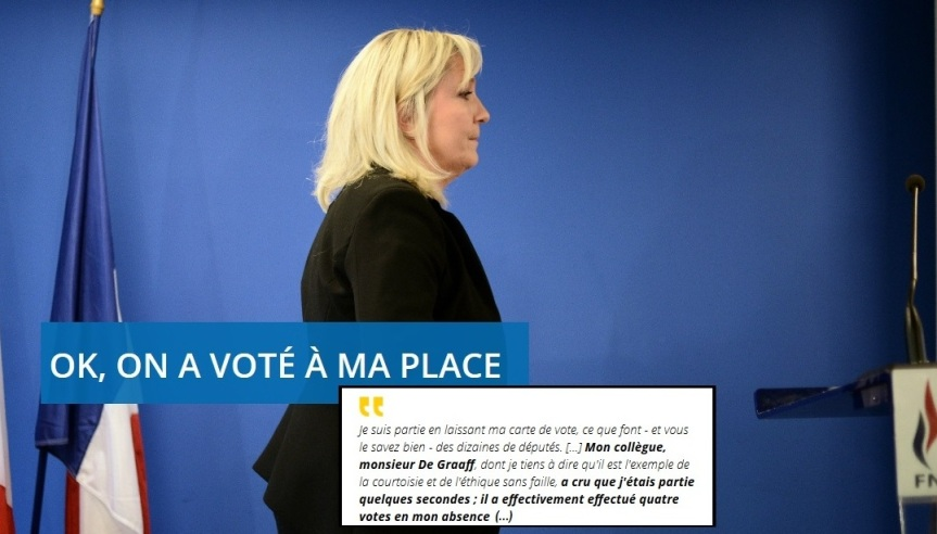Marine Le Pen fraudeuse 01