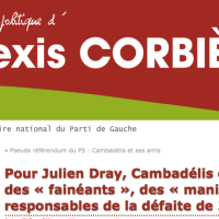 Keskiladi Julien #Dray? Que JC #Cambadelis est une «grosse feignasse»? Nooonn !…