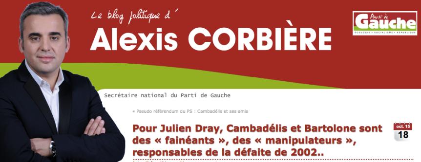 Pour Julien Dray, Cambadélis et Bartolone sont des « fainéants », des « manipulateurs », responsables de la défaite de 2002..