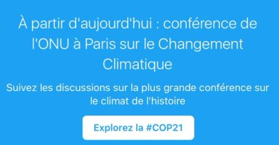 COP21 Climant rechauffement climatique