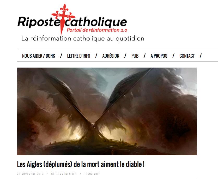 Quand un prêtre facho qualifie les victimes du #Bataclan de « frères siamois des terroristes »… Mon Dieu.