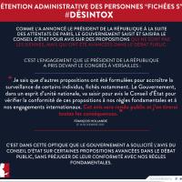 Avis des Sages: Bref, M. Valls veut un Guantánamo pour les «Fichés S»...