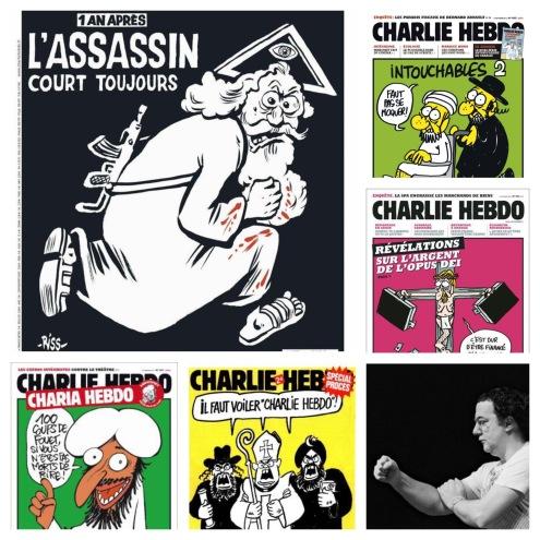 Charlie à la UNE avec ce titre: «l'assassin court toujours»