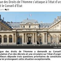 État d'urgence: La Ligue des Droits de l'Homme charge le Gouvernement ...