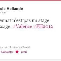 L'apprentissage? C'est F. Hollande qui en parle le mieux... #Archives