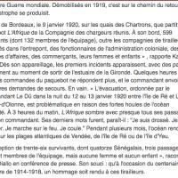 Mémoire: 13 Janv.1920, les tirailleurs-naufragés du Bordeaux-Dakar ...