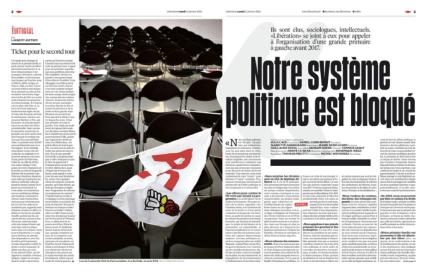 Primaire Gauche Appel Libération