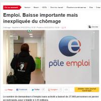 Baisse du chômage: c'est une «hyperbole» (explication) >...