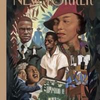 À la UNE du New Yorker: Color Me Black...
