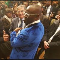 """Alain Mabanckou: Sous le """"manguier du Collège de France""""..."""