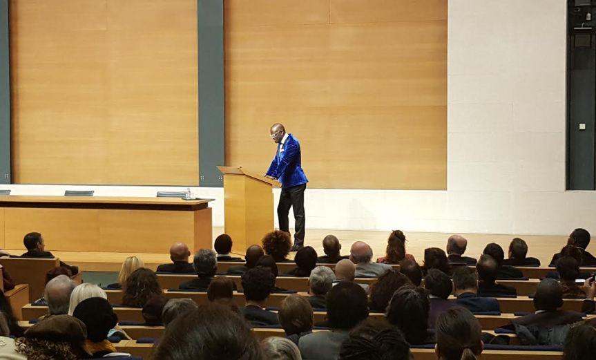 Alain Mabanckou Collège de France