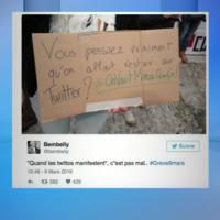 Les Z'influenceurs sur #Twitter: #Grève09Mars in #CQFD de Canal+...