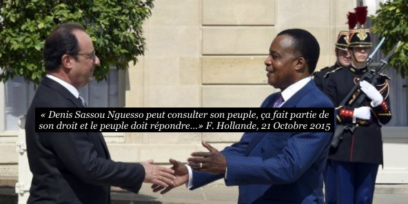 Hollande-Sassou-Congo- 21 octobre Paris