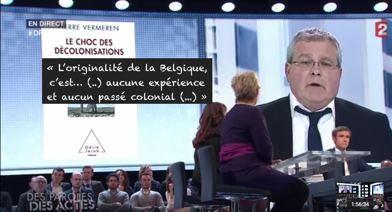 Pierre Vermeren DPDA Passé colonial belgique