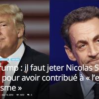 Donald #Trump propose de «jeter N.#Sarkozy en prison pour expansion du terrorisme»...
