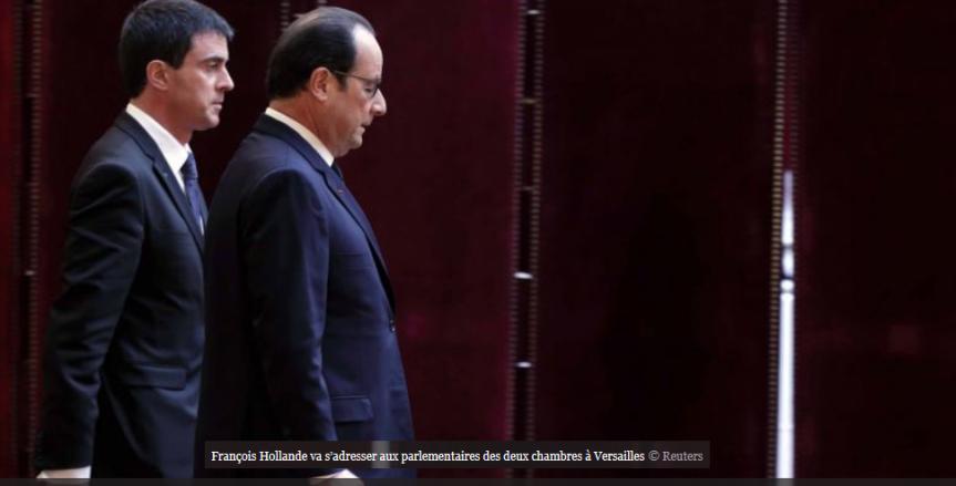 Valls Hollande Versailles déchéance