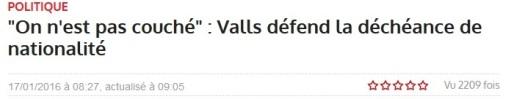 Valls républicain lorain