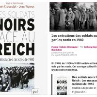 Sans Allocs ni RSA, «Morts pour la France»: les exécutions des soldats noirs par le Reich 1940 ...