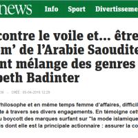"""Les 6 péchés capitaux d' E. #Badinter, """"horloge parlante"""" de M. Valls ..."""