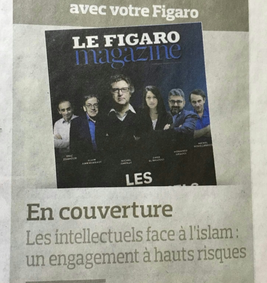 Figaro, les intellectuels face à l'islam