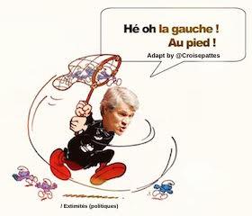 Gargamel le Machiavel Stéphane Le Foll Hé ho la Gauche