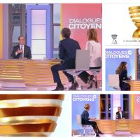 François Hollande: C'était une plaisanterie... #DialoguesCitoyens.