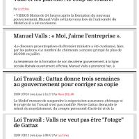 M.#Valls, l'éconduit du #Medef chante: «Je t'aime moi non plus», les histoires d'A.(.) ...