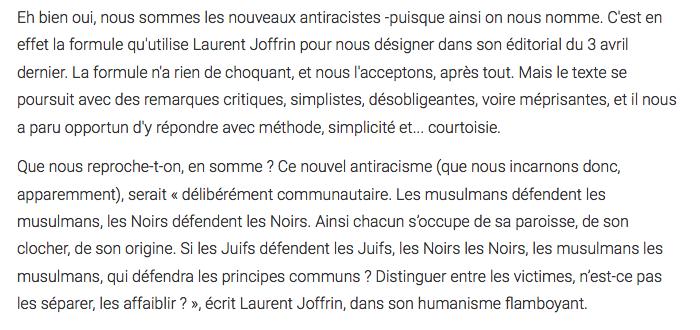 Afropolitis Rockaya Diallo Laurent Joffrin