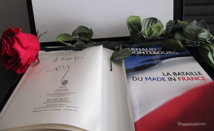 Arnaud Montebourg Bataille du Made in France