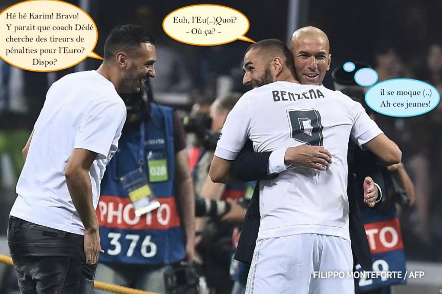 Benzema Real Madrid Champion League