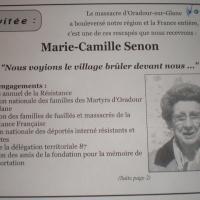 Survivante du massacre nazi d'Oradour, elle refuse d'être décorée par M.#Valls. Quand on vous dit que...