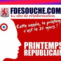 Quand #FdeSouche applaudit Laurent Bouvet du #PrintempsRep, tu sais que ...