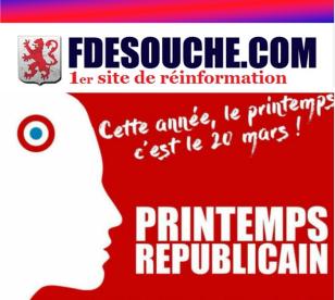 FdeSouche Printemps Républicain Laurent Bouvet identitaire