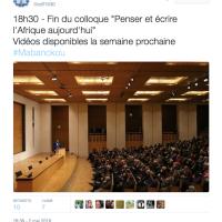 L'#Afrique au Collège de France, le programme...