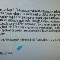 """La #Grève, un chantage? """"La Paille et le Grain"""", extrait ..."""