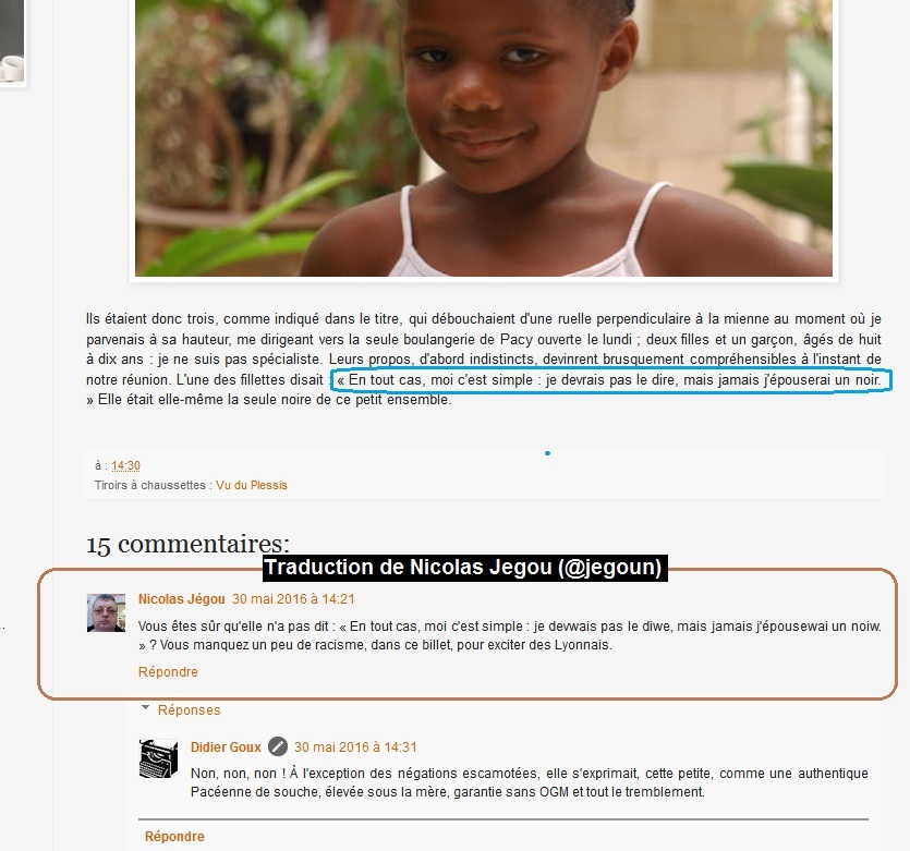 racisme ordinaire