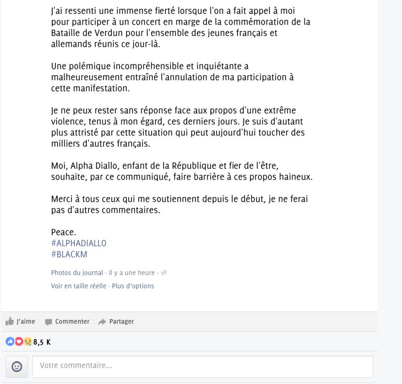 Réponse de BlackM 2 Verdun FN polémique.png