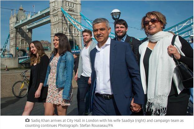 Sadiq Khan Maire de Londres