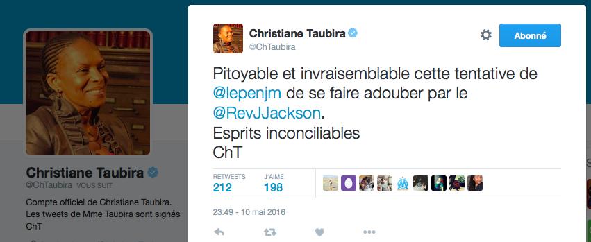 Taubira J Jackson
