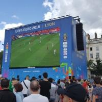 Bref, j'ai testé la #FanZone at #Lyon. A part les «palpations», c'est … #Euro2016