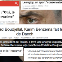 Sport préféré des français, le #rugby est-il #raciste ?