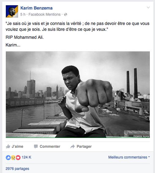 Benzema Mohamed Ali Facebook