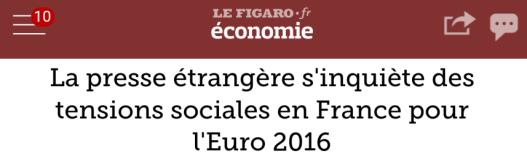 Figaro Euro presse étrangère