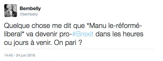 Tweet brexit Valls