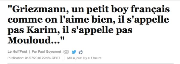 Griezman un petit boy bien français