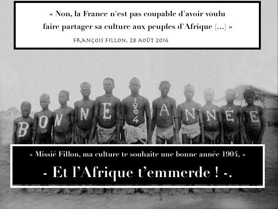 Colonisation Fillon France Culture