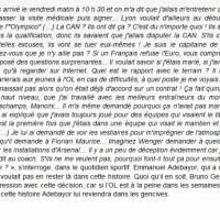 """L'ahurissant """"entretien d'embauche"""" d'Adebayor à #Lyon (OL). C'est, comment dire..."""