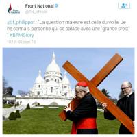 """Florian Philippot: """"Grand Croix"""" de la connerie ... / Ça, c'est fait."""