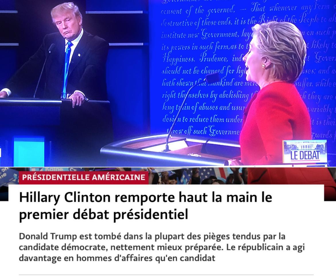 Présidentielle américaine 1er débat Hillary Trump.png