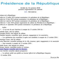 Changement à l'#Élysée: Romain Pigenel is back, «conseiller chargé des discours» …